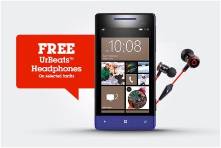 HTC 8S now available at Phones 4U