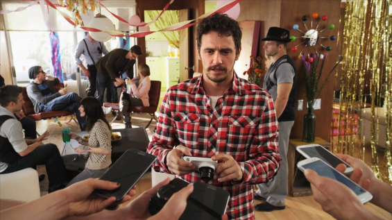 Samsung release new Galaxy Camera ad