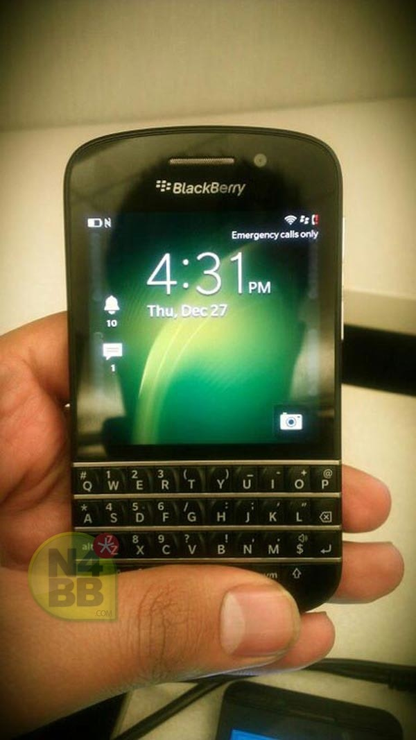 More BlackBerry X10 photos leaked