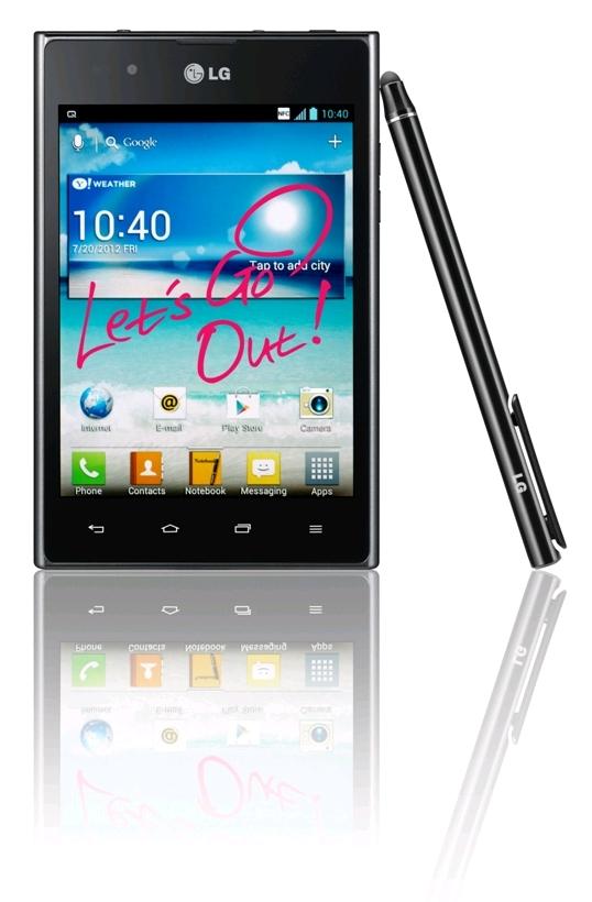 LG Optimus VU for only £279.99   stocks running low!