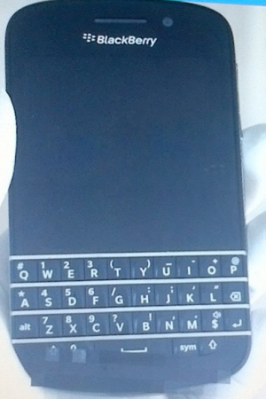 New BlackBerry phone pics spied in the wild