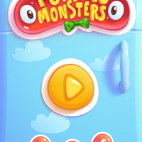 Pudding Monsters home screen