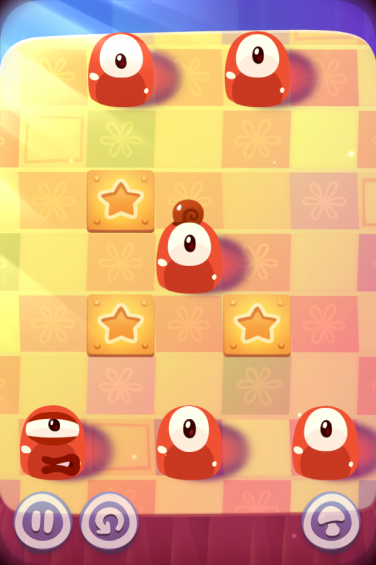 Pudding Monsters level screen