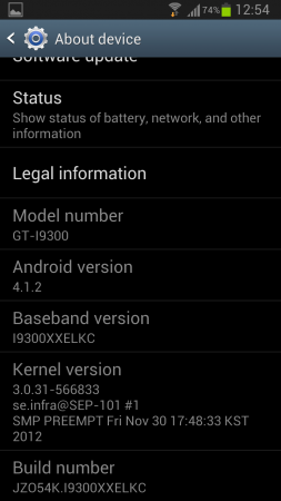Samsung Galaxy SIII getting Android 4.1.2 with features and enhancements