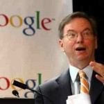 "Eric Schmidt says ""Google is the new Microsoft"""