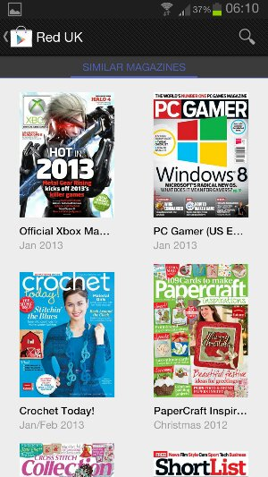 Are magazines coming to the UK Play Store? Update   Yes!
