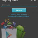 Google Play now lets you redeem gift cards