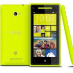 HTC 8X is now available in yellow