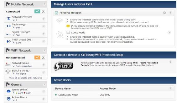 XYFI Personal Hotspot   Review