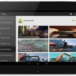 YouTube updated for Android 10″ tablets