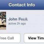 Free Calls via Facebook