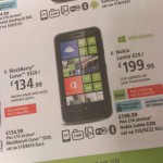 Lumia 620 price on Three revealed