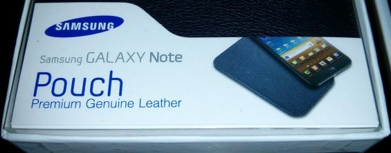 Samsung Galaxy Note Pouch Case