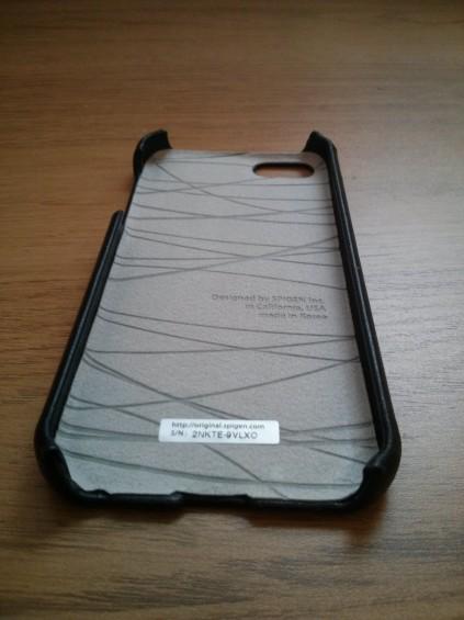 Spigen SGP LeatherGrip for iPhone 5   Review