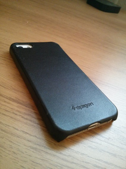 Spigen SGP LeatherGrip for iPhone 5   Review