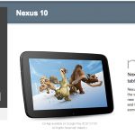 Nexus 10 back in stock at Google