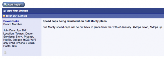 Full Monty speed caps return (UPDATED)
