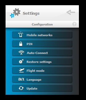 Ucan Connect Settings