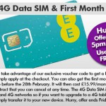 Try EE 4G yourself, free for a month. Here's how..