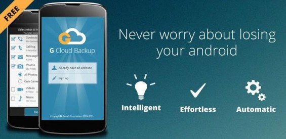 G Cloud Backup updated. Keep your mobile data safe.