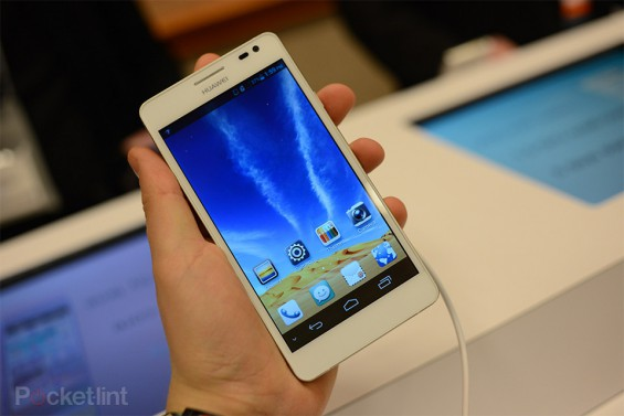 Huawei Ascend D2 announced at CES