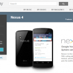 Nexus 4 Now available to buy again here in the UK