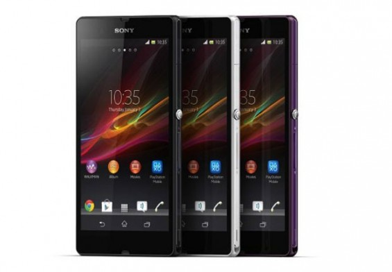 Sony announce Xperia Z and ZL at CES