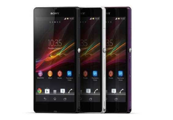 sony xperia z announced ces 2013