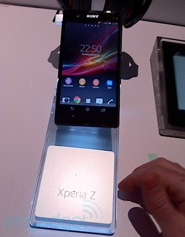 Sony Xperia Z confirmed at CES event