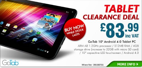 Deal   do you fancy a cheap 10 Android tablet?