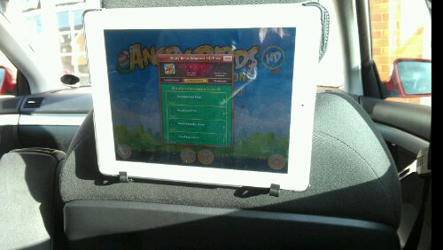 Snugg iPad Headrest Holder   Review