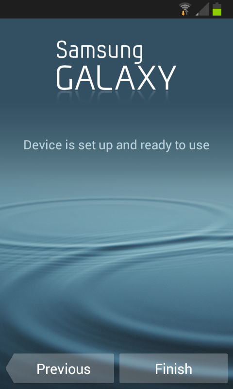 4.1.2 update hits the Samsung Galaxy S Advance