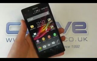 Sony Xperia Z hands on