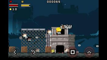 Gunslugs - new retro 8 bit shoot em up - is now available
