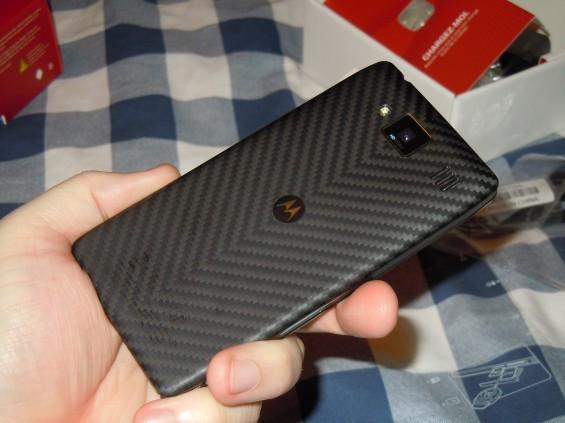 Motorola RAZR HD unboxing
