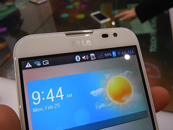 MWC   Hands on with the LG Optimus G Pro