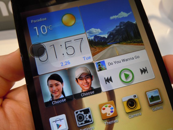 MWC   Huawei Ascend Mate hands on