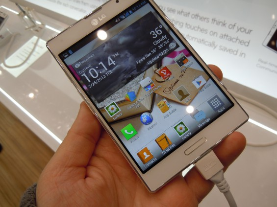 MWC   LG Optimus Vu II hands on