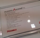 MWC   Huawei Ascend P2 Up Close