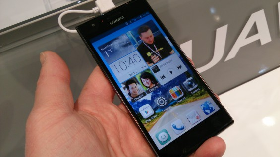MWC   Huawei Ascend P2 Hands on video