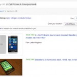 Sell a Z10 for silly money