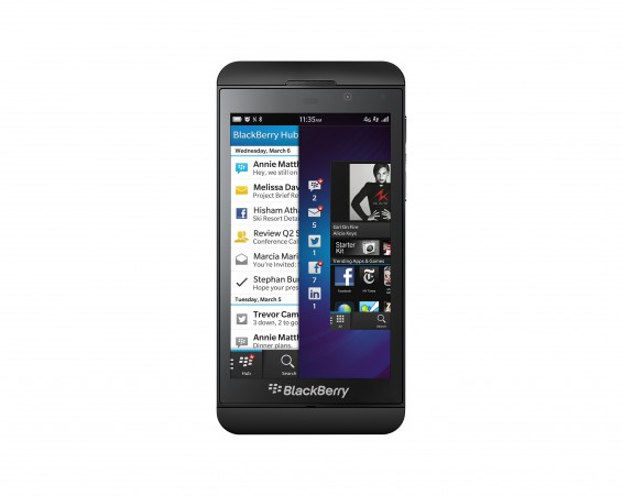 BlackBerry Z10 is now available on Three UK