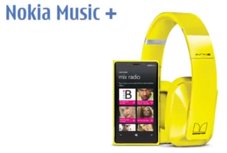 Nokia Music+ available on Lumia