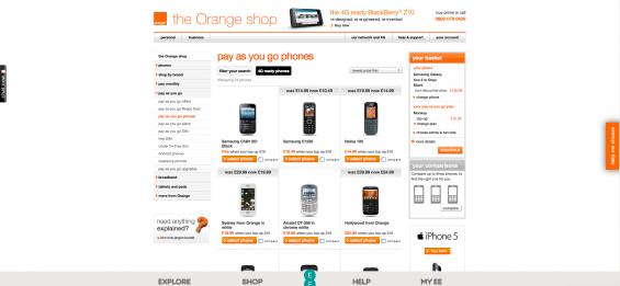 Orange PAYG