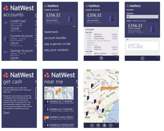 Natwest now on Windows Phone