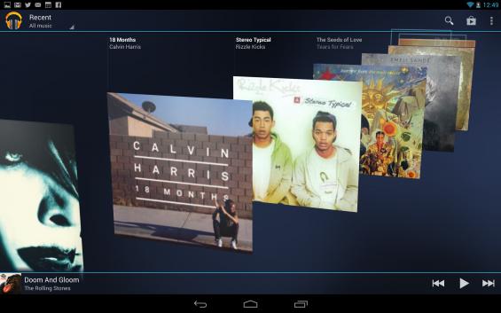 Google Music Nexus 10