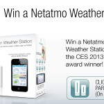 Win a Netatmo Urban Weather station