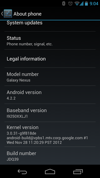 Android 4.2.2 Rolling out to Nexus Devices