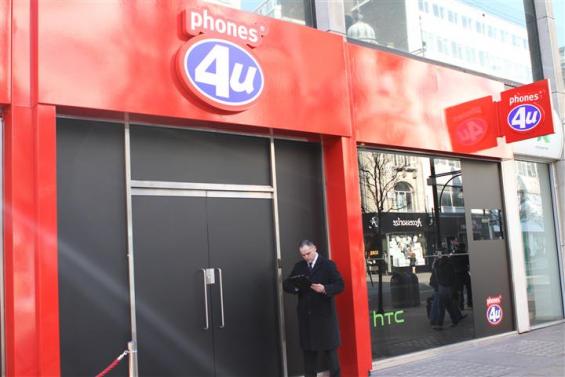 Phones 4U Blackout