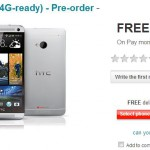 HTC One available to pre-order on Vodafone